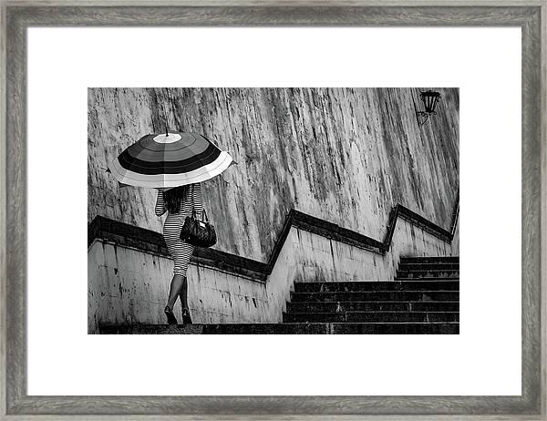 Diagram Framed Print by Dmitry Skvortsov