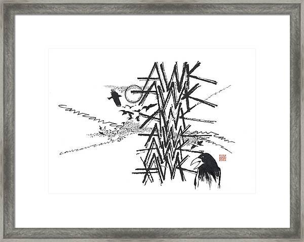 Dialogue Framed Print