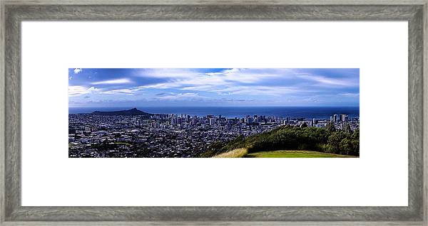 Diamond Head Framed Print