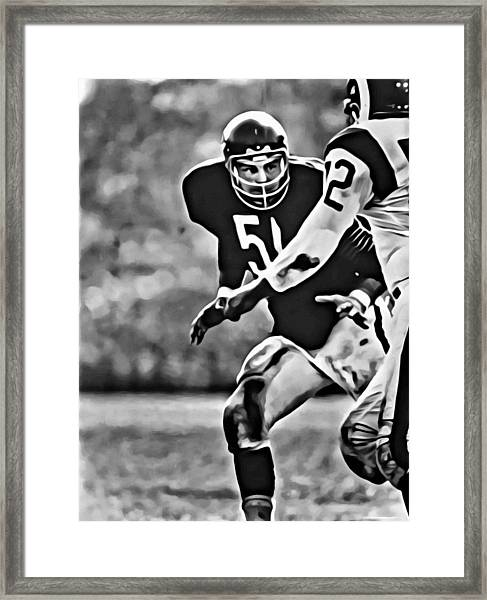 ea337276 Dick Butkus Framed Art Prints | Fine Art America