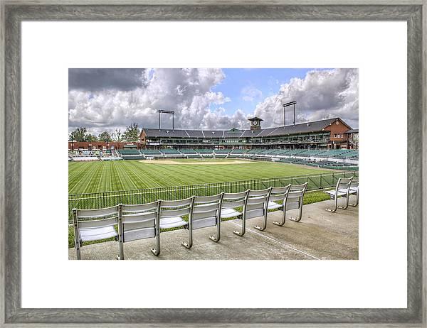 Dickey-stephens Park Framed Print