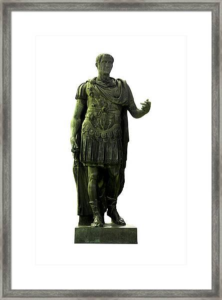 Dictator Julius Caesar Framed Print