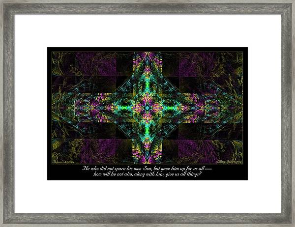 Did Not Spare Framed Print
