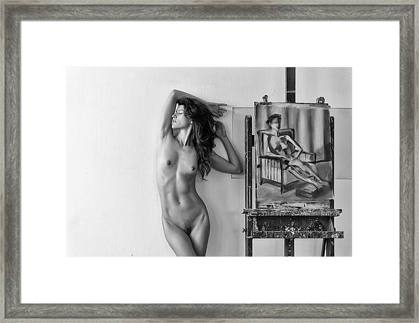 Different Kind Of Beauty Framed Print