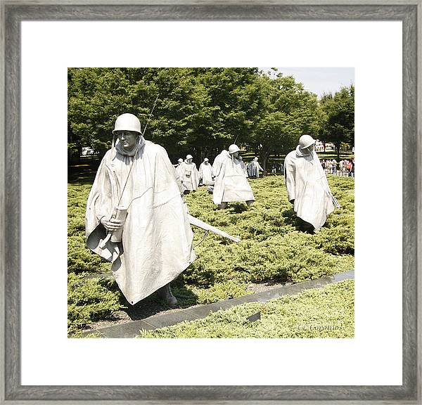 Different Realities Framed Print