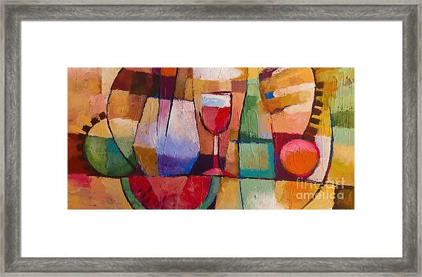 Dining Framed Print