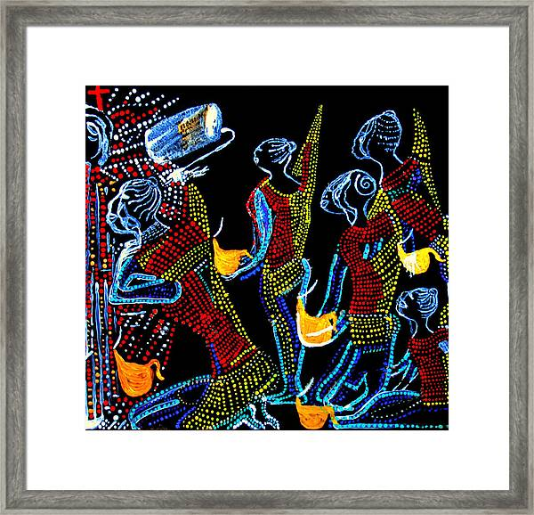 Dinka Wise Virgins Framed Print