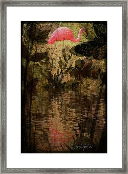Dinosaurs Among Us Framed Print