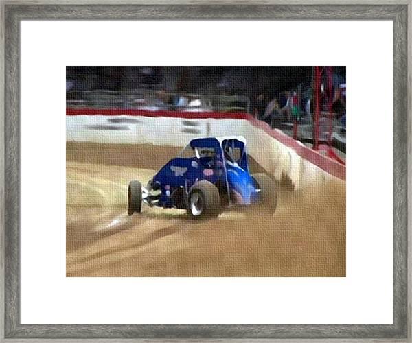 Dirt Trackin' Framed Print