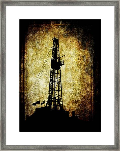 Dirty Derrick Framed Print