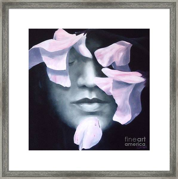 Disconnected  Framed Print by Diane Daigle