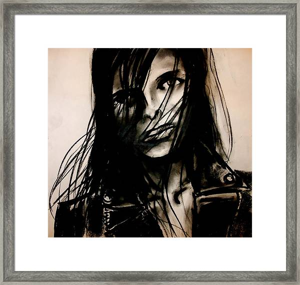 Disheveled Framed Print