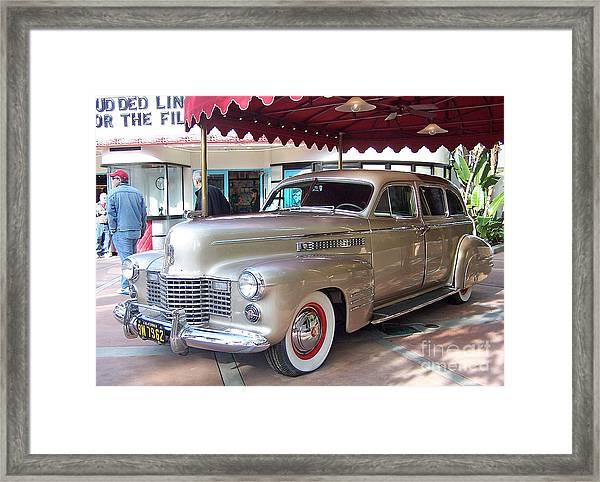 Disney Cadillac Framed Print