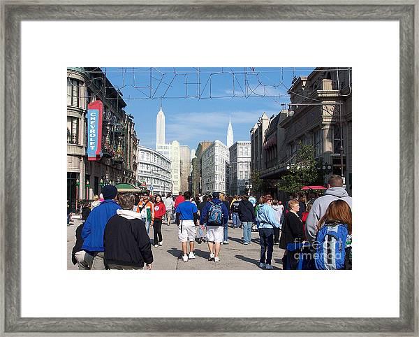 Disney World 1 Framed Print