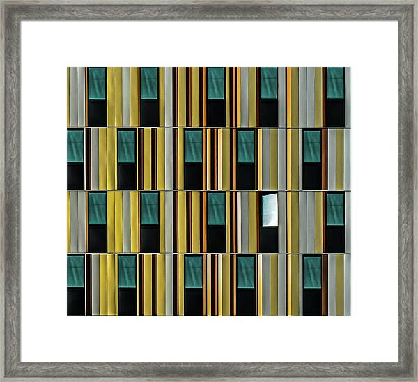 Dissident Window Framed Print by Luc Vangindertael (lagrange)