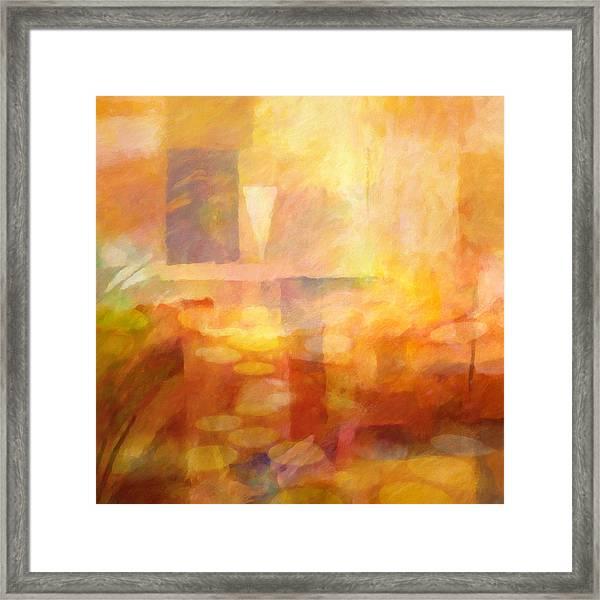 Distant Impressions Framed Print