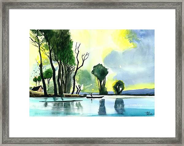 Distant Land Framed Print