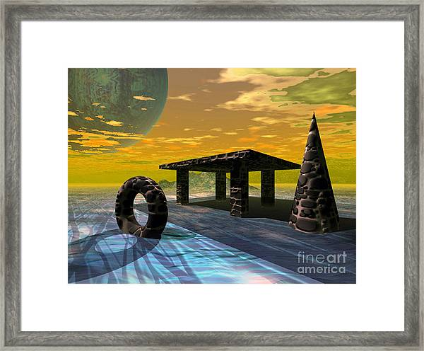 Distant Ranges Framed Print