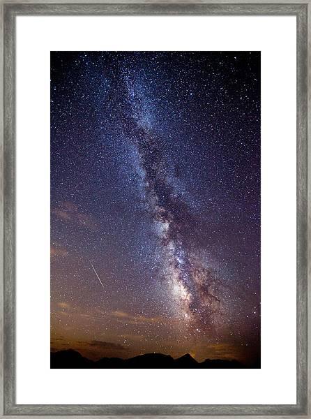 Distant Visitors Framed Print