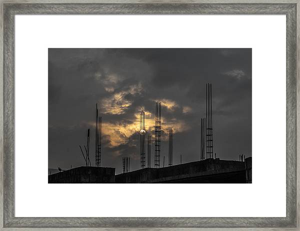 Distructure Framed Print