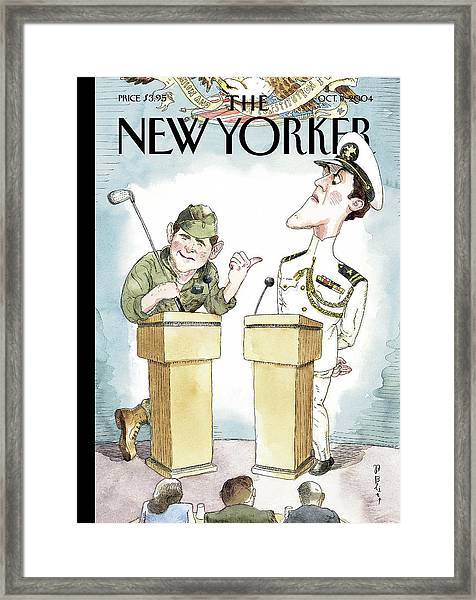 Diversionary Tactics Framed Print by Barry Blitt