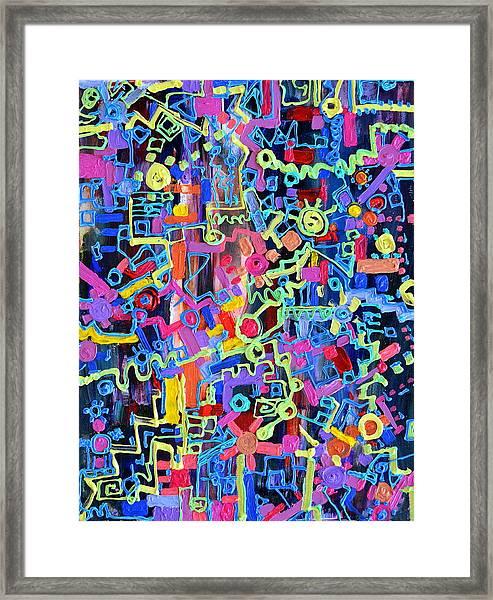 Divertissment Framed Print