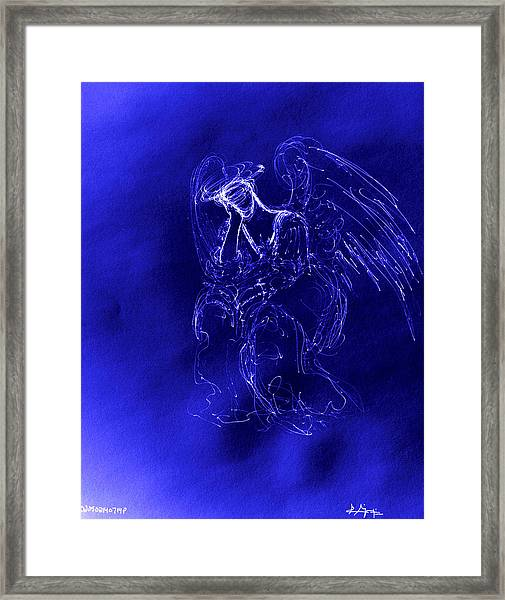 Divine Angel Framed Print