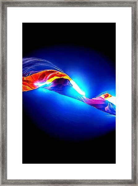 Divine Connection Framed Print by Az Jackson