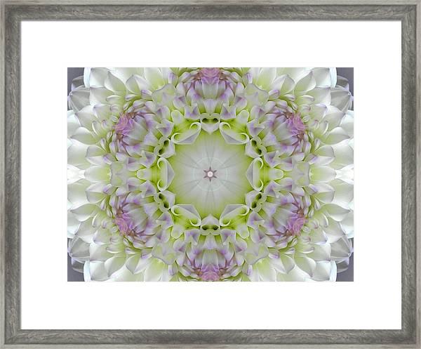 Divine Grace Mandala Framed Print