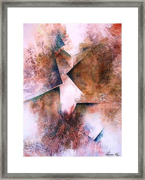 Divine Path Framed Print