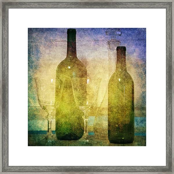 Divine Wine Framed Print