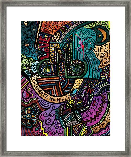 Dmb Love Framed Print