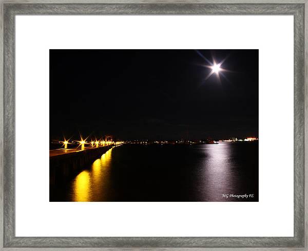 Dock Side Framed Print
