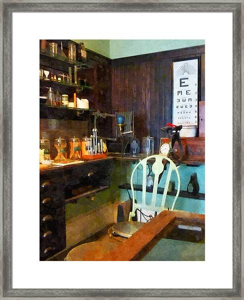 Doctor - Pediatrician's Office Framed Print
