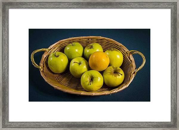 Doctors Fruit Framed Print