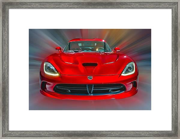 Dodge Viper Srt  2013 Framed Print