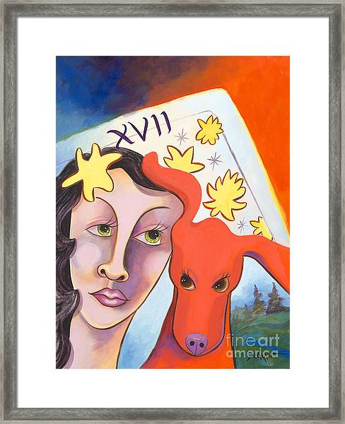 Dog Amore' Framed Print