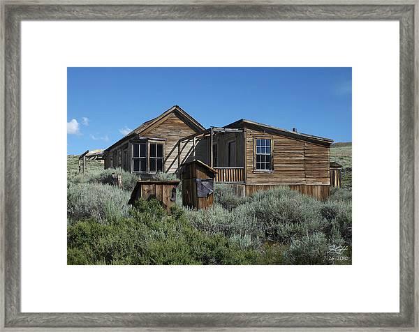 Dolan House East Framed Print