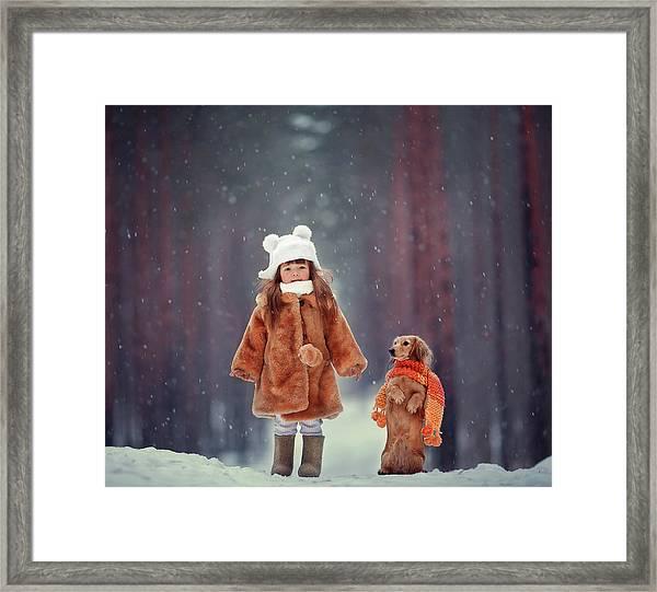 Dolls Framed Print by Anna Melnikova