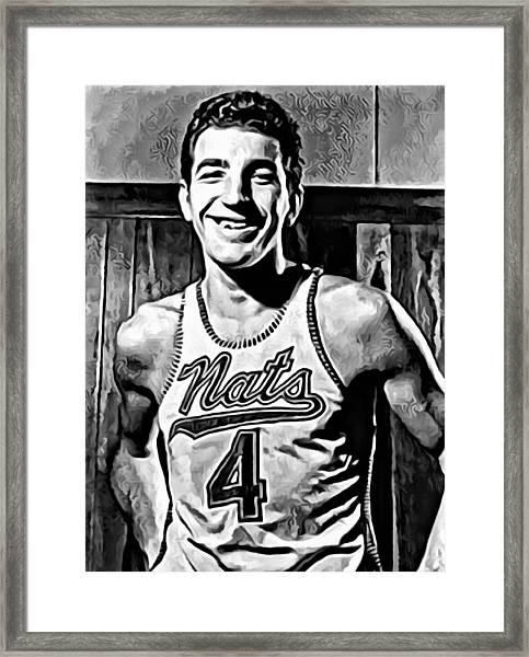 Dolph Schayes Framed Print
