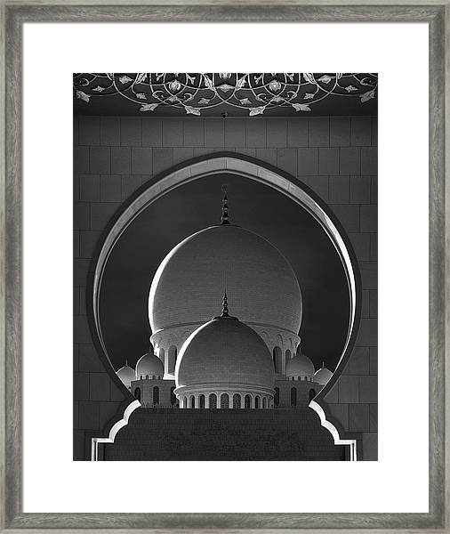 Dome Framing Framed Print