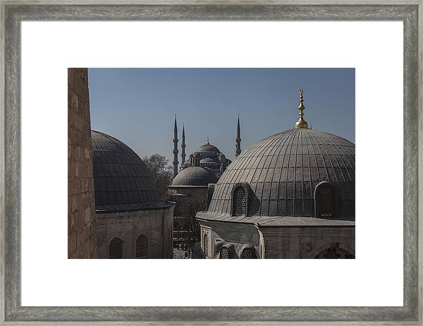 Domes And Minarets Framed Print by Adriano Ficarelli