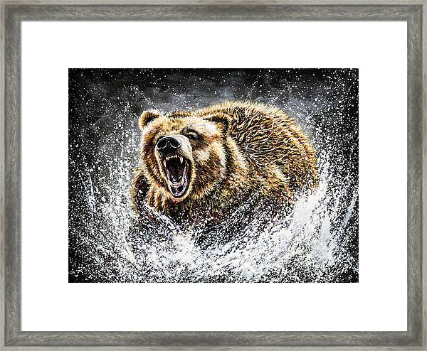 Dominance Framed Print