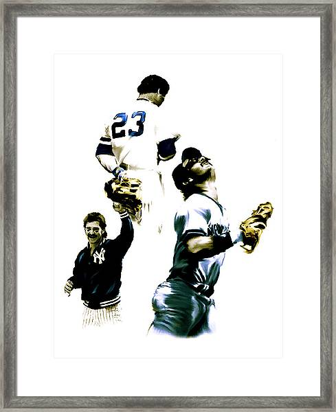 Donnie Baseball  Don Mattingly Framed Print