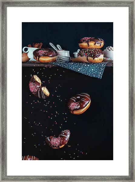 Donuts From The Top Shelf Framed Print by Dina Belenko