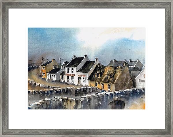 Clare Doolin Village  Framed Print