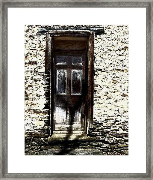 Door 3769 Framed Print