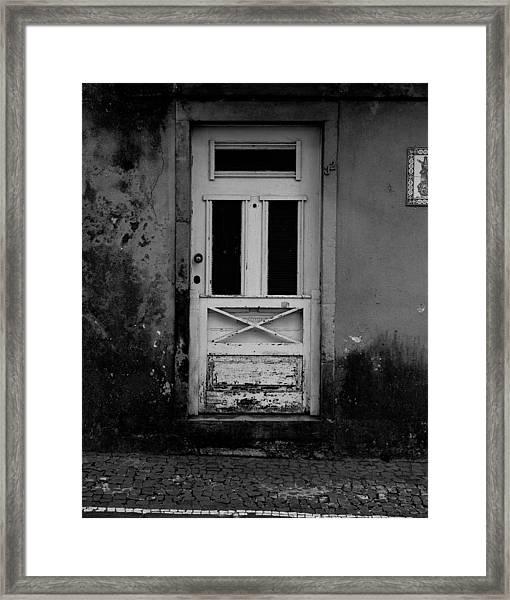 Door-8 Framed Print