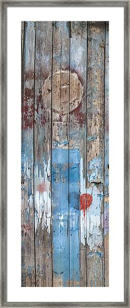 Door Study II Framed Print