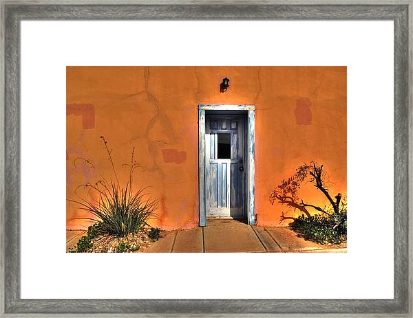 Florence Door 031911 Framed Print